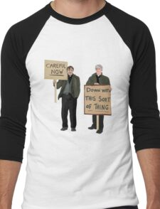 """""""DOWN WITH THIS SORT OF THING...Careful Now"""" - Father Ted Men's Baseball ¾ T-Shirt"""