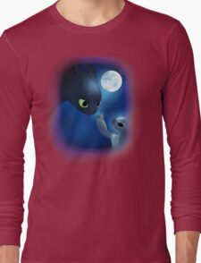 How to Train Stitch's Dragon Long Sleeve T-Shirt
