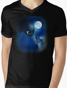 How to Train Stitch's Dragon Mens V-Neck T-Shirt