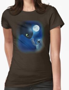 How to Train Stitch's Dragon Womens Fitted T-Shirt
