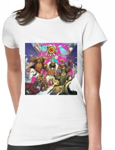 Flatbush Zombies tour Womens Fitted T-Shirt