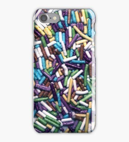 Candies background iPhone Case/Skin