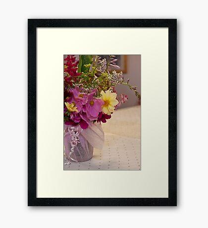 Garden Fresh Bouquet Framed Print