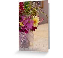 Garden Fresh Bouquet Greeting Card