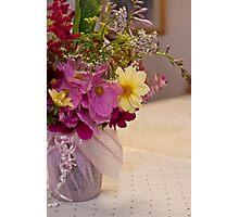 Garden Fresh Bouquet Photographic Print