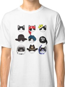 A Cat Living Nine Lives Classic T-Shirt