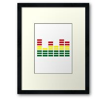 Equalizer Framed Print
