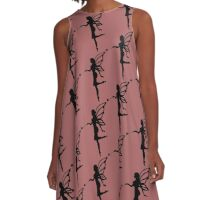 Fairy Silhouette A-Line Dress