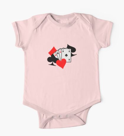 Poker signs cards One Piece - Short Sleeve