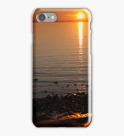 Sunset Over Water iPhone Case/Skin