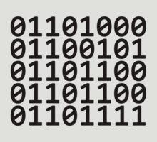 Binary - Black by GradientPowell