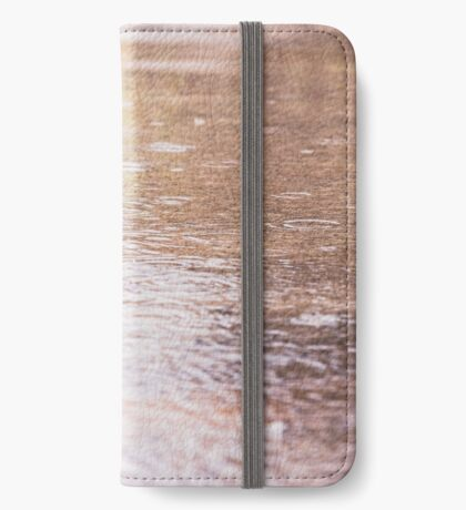 rain water puddles iPhone Wallet/Case/Skin