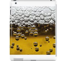 Beer close up iPad Case/Skin