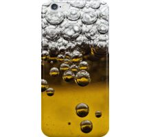 Beer close up iPhone Case/Skin