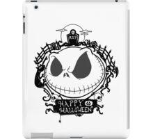 Happy Halloween Nightmare Style iPad Case/Skin