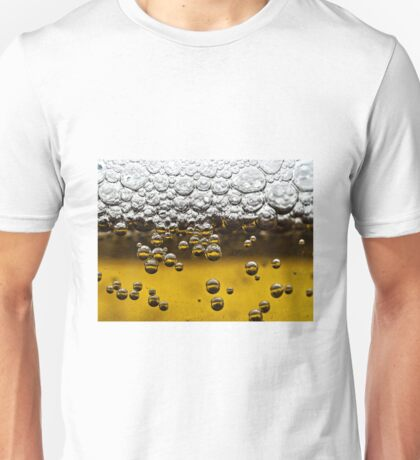 Beer close up Unisex T-Shirt