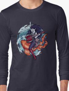 Daddy's Little Monster Long Sleeve T-Shirt