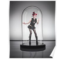 Roxane Hat 1 UNDER GLASS Poster
