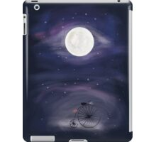 A ride to the Moon  iPad Case/Skin