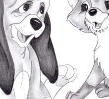 Disney The Fox and the Hound Sticker
