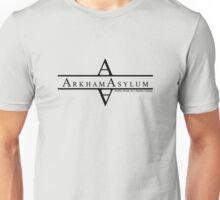 Arkham Asylum - Black Unisex T-Shirt