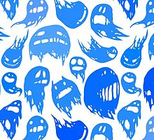 Blue ghosts party by shizayats