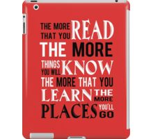 Dr Suess The Places You'll Go iPad Case/Skin