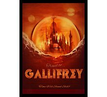 Visit Gallifrey! Photographic Print