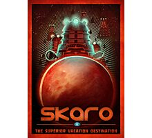 Skaro Travel Postcard Photographic Print
