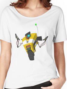 Claptrap Sticker Women's Relaxed Fit T-Shirt