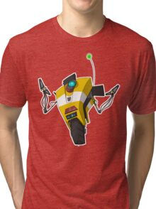 Claptrap Sticker Tri-blend T-Shirt