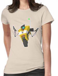 Claptrap Sticker Womens Fitted T-Shirt