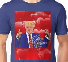 valentines day donald trump  Unisex T-Shirt