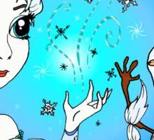 Elsa and Olaf Sticker