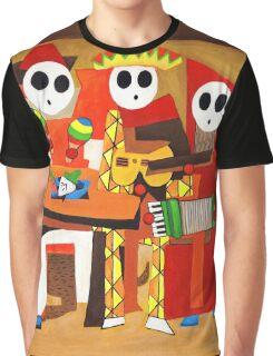 Three Mariachi Guys Graphic T-Shirt