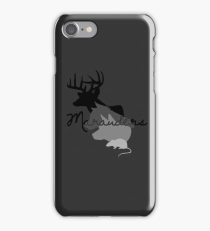 moony padfoot prongs & wormtail iPhone Case/Skin