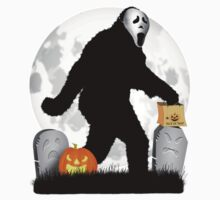 Halloween Gone Squatchin' by Gravityx9