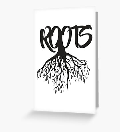 Roots Style art Greeting Card