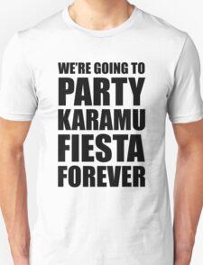 Party Karamu Fiesta Forever (Black Text) T-Shirt