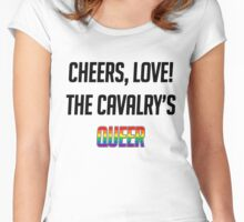 Cheers, Love! (Alt) Women's Fitted Scoop T-Shirt
