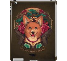 See You Space Cowboy! iPad Case/Skin