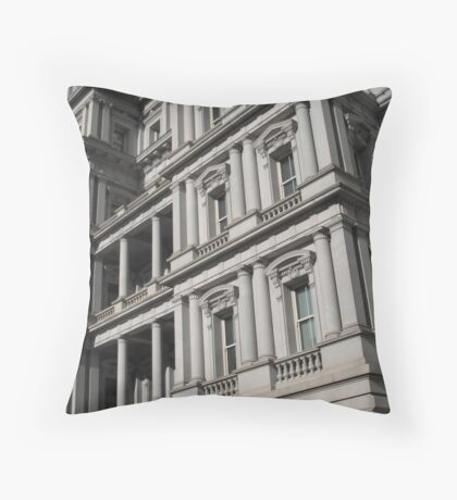 DC Facade Throw Pillow