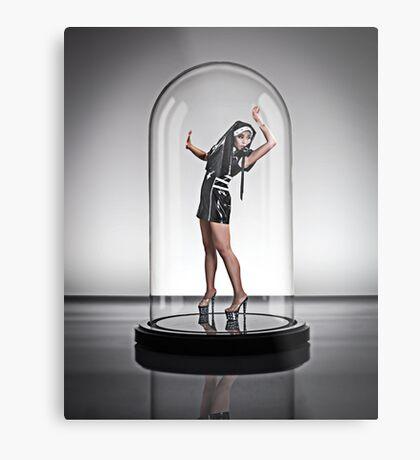 Amy Nun 1 UNDER GLASS Metal Print