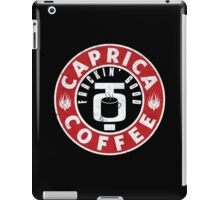Caprica Coffee iPad Case/Skin