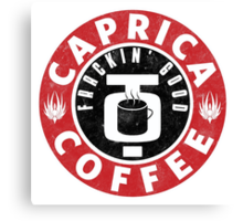 Caprica Coffee Canvas Print