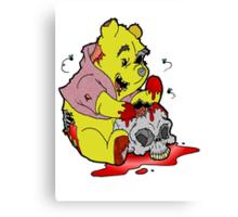 Zombie Pooh Canvas Print