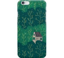 House in a forest. iPhone Case/Skin