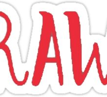 Raw Sticker