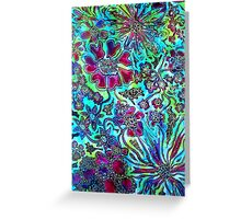 Floral Fantasy Collection - In Bloom Greeting Card