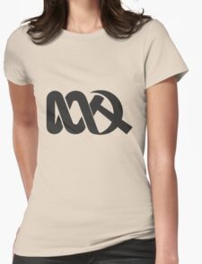 Red ABC Womens Fitted T-Shirt